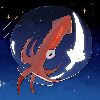 Spicy Space Squid