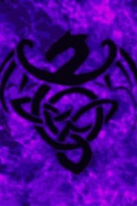 The Violet Dragon Familiar