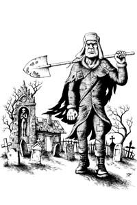 The Undertaker from Mokvas