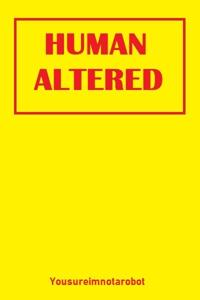 Human Altered