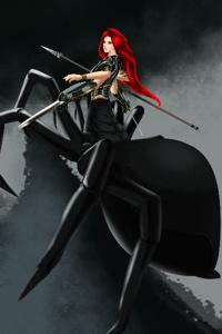 Elania, Arachne in a different world