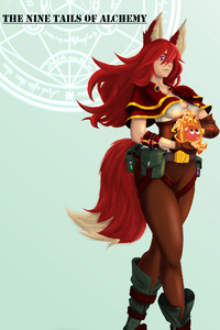 The Nine Tails of Alchemy Series (gamelit)