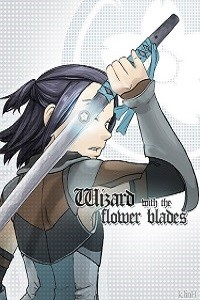Wizard with the flower blades
