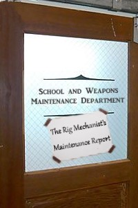 The Rig Mechanist's Maintenance Report