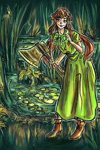Give me my lily pad back.