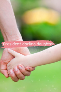 Presidents darling daughter