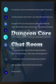 Dungeon Core Chat Room.